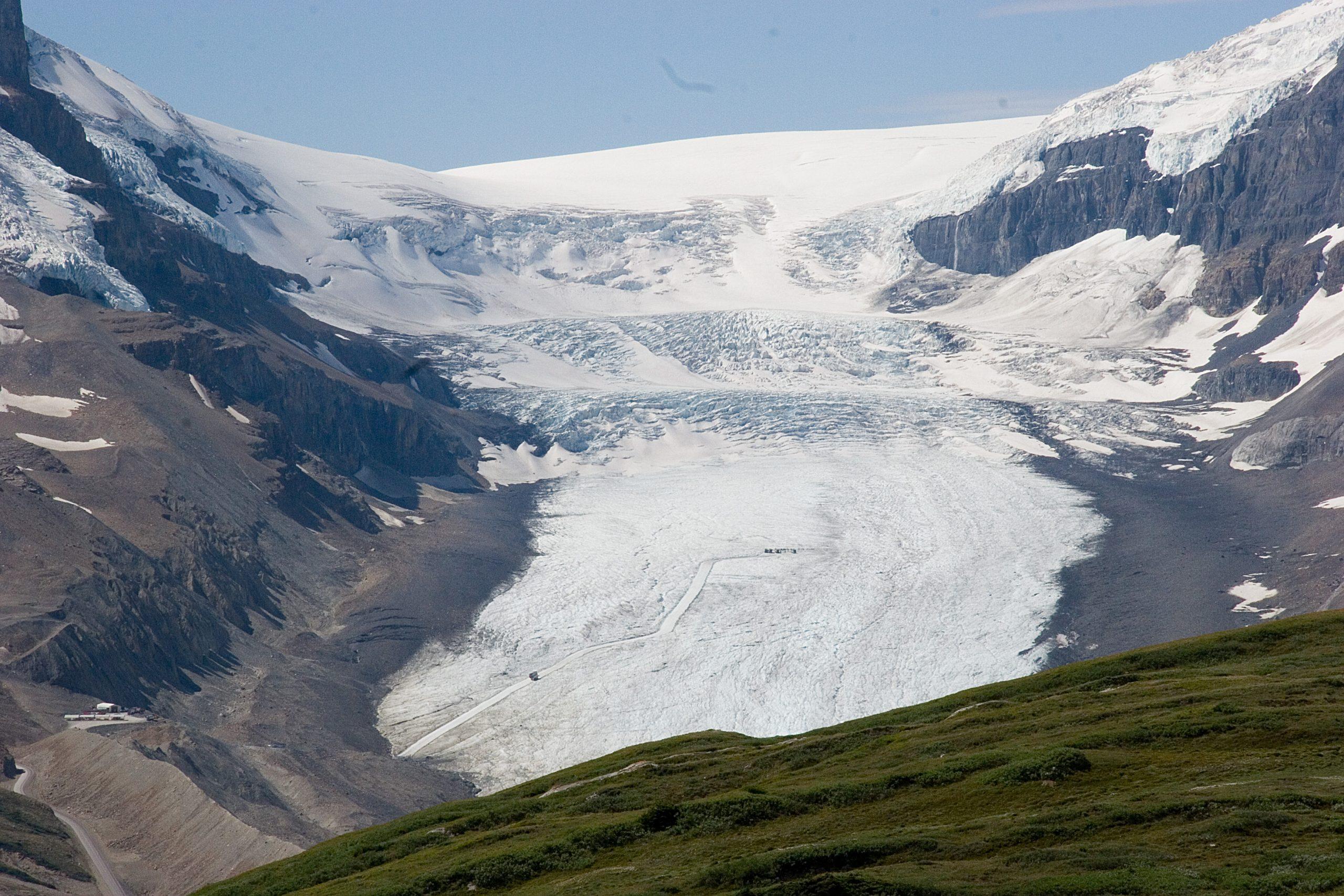 Athabasca Glacier. Wilcox Pass trail, Alberta, Canada  photo credit: Kimon Berlin