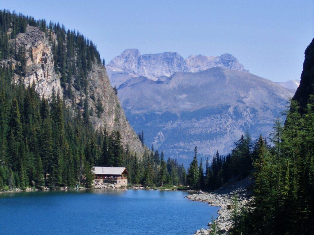 Lake Agnes Tea House, one of the top hikes at Lake Louise