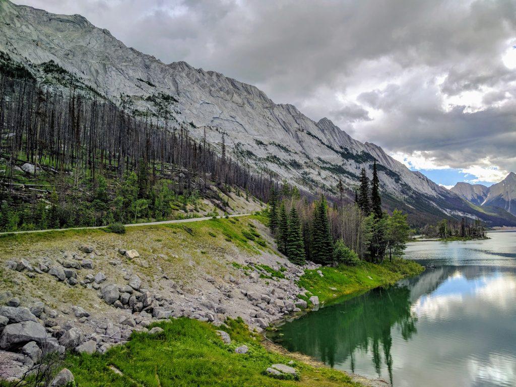 Banff Jasper 5 Days Itinerary: Medicine Lake, Jasper National Park