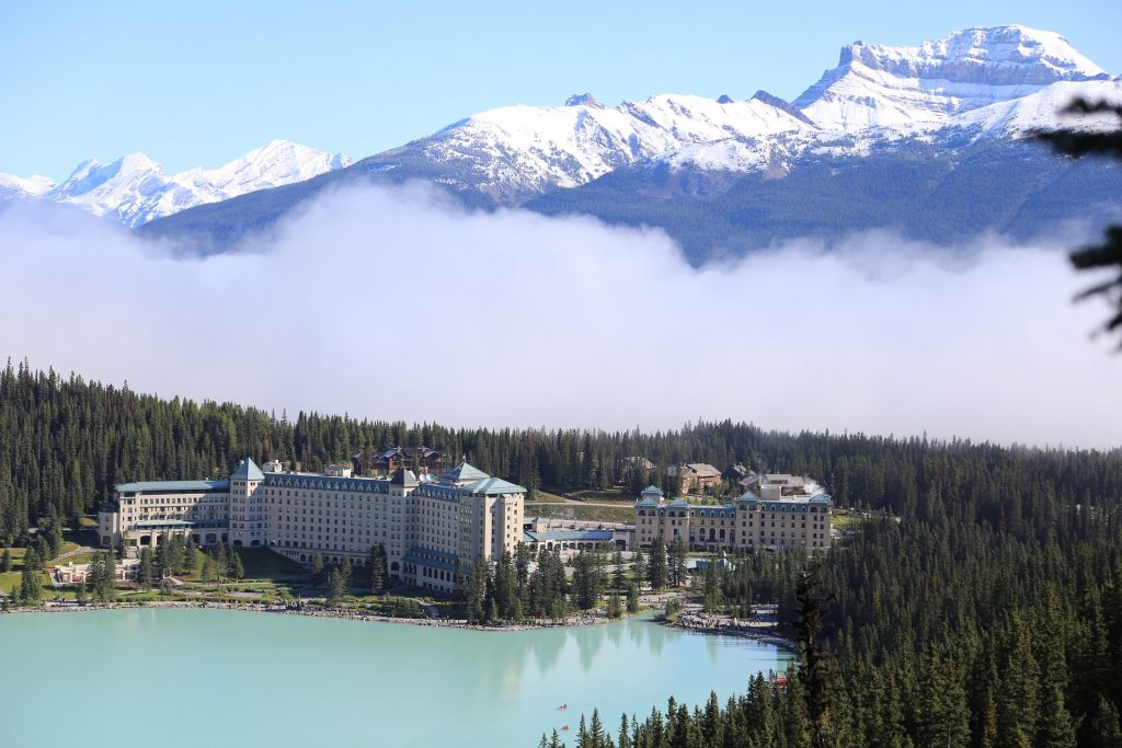 """""""Diamond in the Wilderness"""" - Fairmont Chateau Lake Louise"""