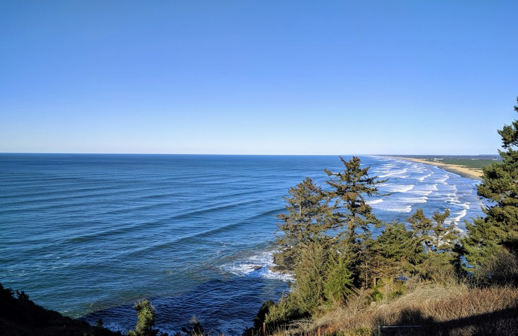 Views from Lewis & Clark Interpretive Center, Cape Disappointment