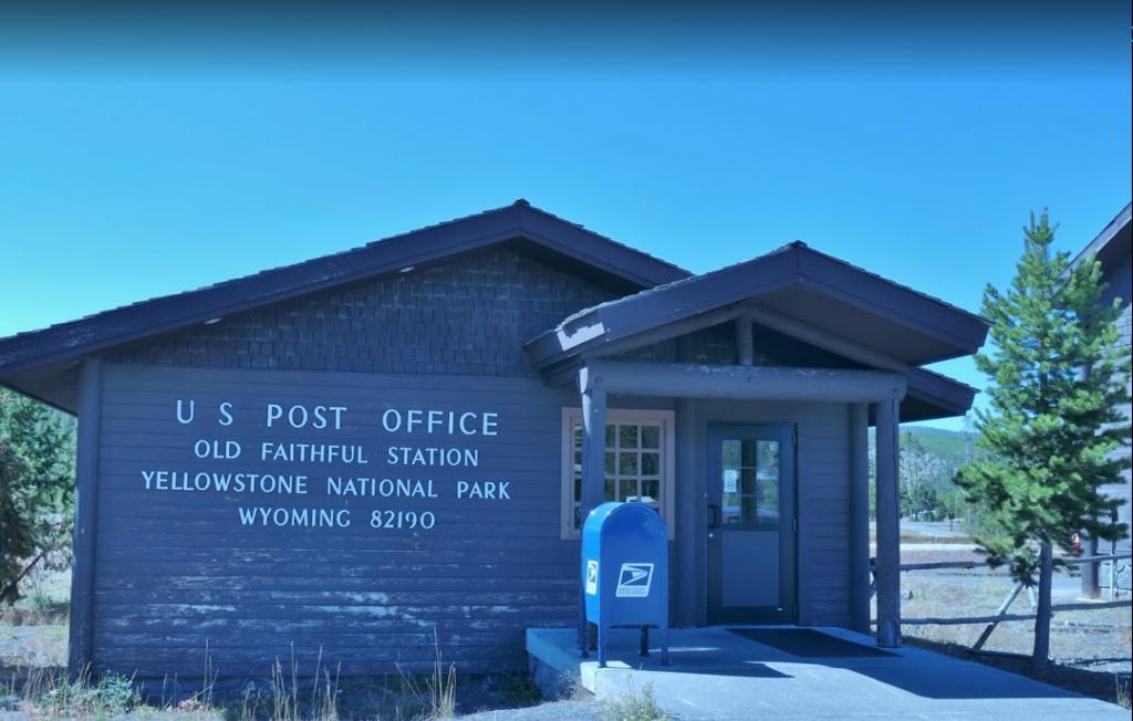 US Post Office Old Faithful Station, Yellowstone National Park