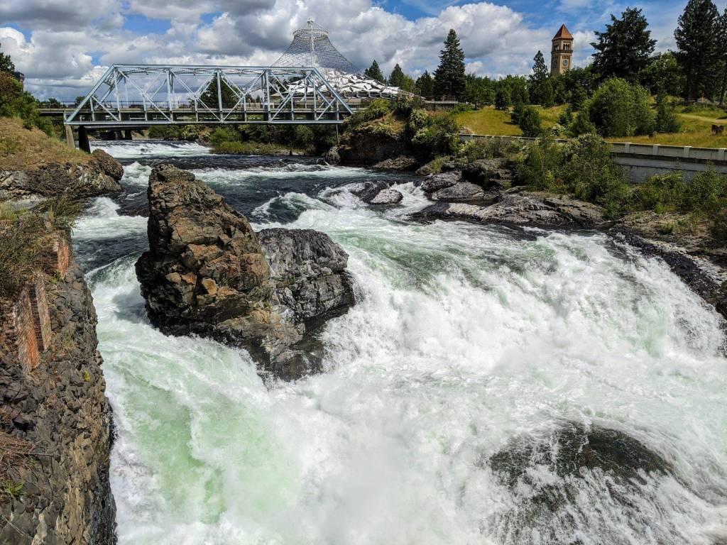 Spokane Falls, Spokane