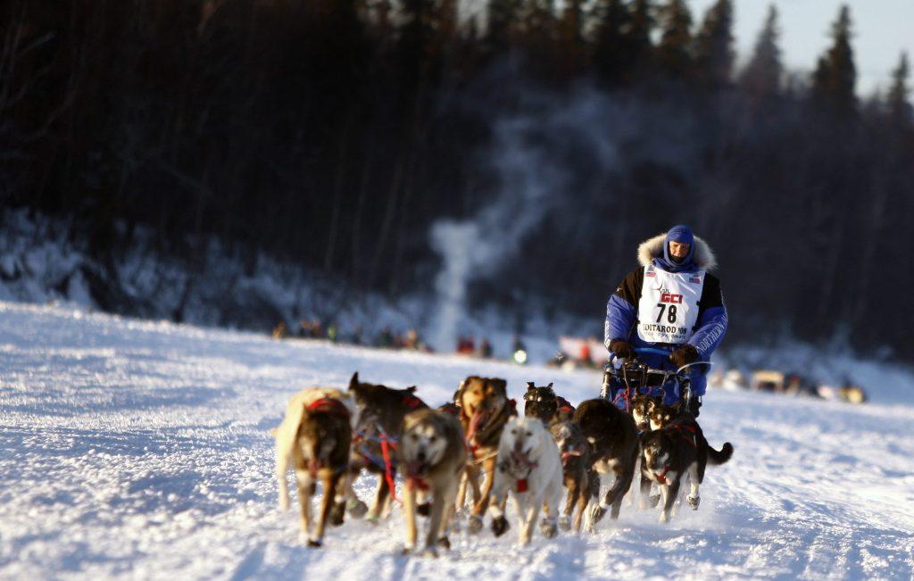 Iditarod Trail Race. credit: U.S. Army photo by Russel Lee