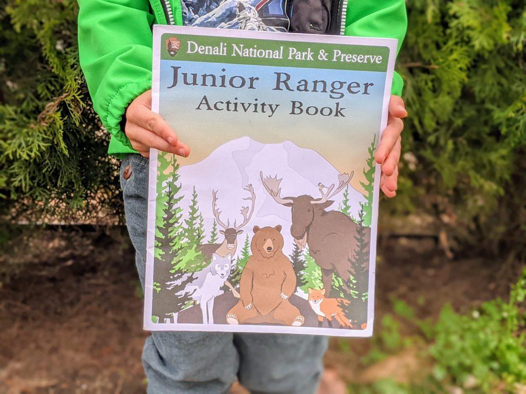 Denali National Park Junior Ranger activity book